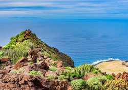 canary islands cliff
